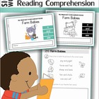 Sight Words - 20 Readers with Comprehension Worksheets (Pr