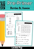 Sight Words - Revise and Assess (Pre-Primer Words)