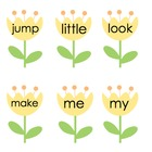 Sight Words: Flower Theme Pre-Primer List