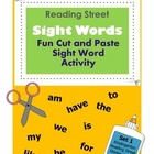 Sight Words / Fun Cut and Paste Sight Word Recognition Wor