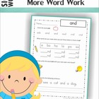 Sight Words - Fun with Words (Pre-Primer Words)