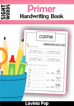 Sight Words - Handwriting Book (Primer Words)