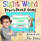 Sight Words Hunt Pre Primer PowerPoint