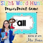 Sight Words Hunt Primer List PowerPoint Game