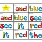 Sight Words I Have Who Has Games