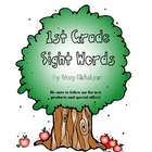Sight Words Quick Assessment - 1st grade