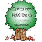 Sight Words Quick Assessment - 3rd grade