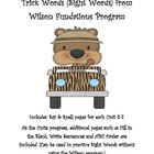 Sight Words (Trick Words): Wilson Fundations Units 2-7