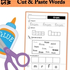 Sight Words Worksheets - 1st Grade Words (Dolch Words High