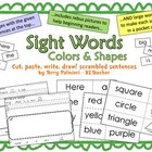 Sight Words to Read, Write, Cut, Paste, Draw: Here, is, a,