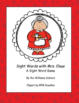 Sight Words with Mrs. Claus