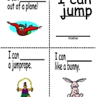 Sight word mini reader (Jump book)