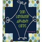 Sign Language Alphabet Letters