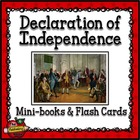 Signers of the Declaration of Independence Mini-books and