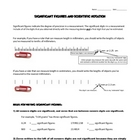 Significant Figures Rules & Worksheet - FREE WORKSHEET
