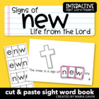 """Signs of New Life from the Lord"" Interactive Sight Word Reader"