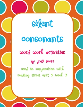Silent Consonants: kn, wr, gn, mb