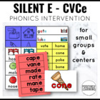 Silent E Learning Activities
