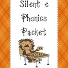 Silent E Phonics Packet