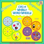 Silent E Word Wheels with cvc e