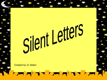 Silent Letters Power Point Presentation