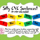 Silly CVC Sentences