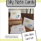Silly Notes Card Set
