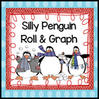 Silly Penguin Roll & Graph Activity