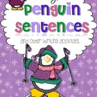 Silly Penguin Sentences {and other writing activities}