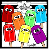 Silly Popsicles Clip Art