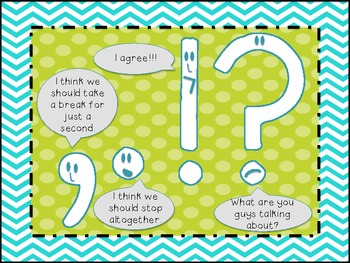 Silly Punctuation Poster