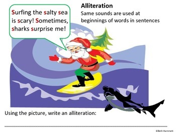 Silly Santa Sayings: Fun Figurative Language Activities fo