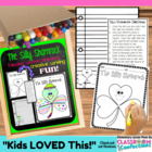 Silly Shamrock {St. Patrick's Day writing, art,  following