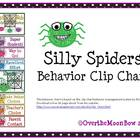 Silly Spiders Behavior Clip Chart