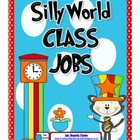 Silly World Themed Classroom Jobs