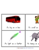 Simile Poster and Cards - Writing/Grammar Resource - 4 pages