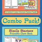 Similes Printable Class Books Combo Pack {Figurative Language}