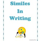 Similes in Writing