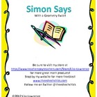 Simon Says with a Geometry twist!