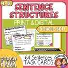 Simple, Compound, and Complex Sentence Task Cards: Double Set!