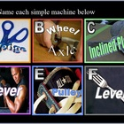 Simple Machines PowerPoint Review Game with Answers