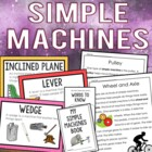 Simple Machines Science Mini-Unit {Anchor Charts, Worksheets}