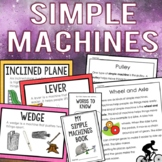 Simple Machines Science Mini-Unit {Anchor Charts, Interact
