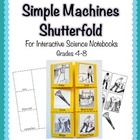 Simple Machines Shutterfold for Interactive Science Notebooks