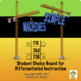 Simple Machines Tic-Tac-Toe Differentiated Learning Plan