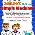 Simple Machines Unit: Flap Book, Experiments, Visual Aids,