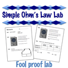 Simple Ohm's Law Lab   - Electricity  -  V=IR