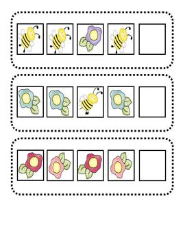 Simple Pattern Cards for the Young