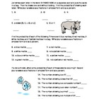 Simple Probability Worksheet