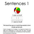 Simple Sentences 1 (Special Needs, Reading, Autism)